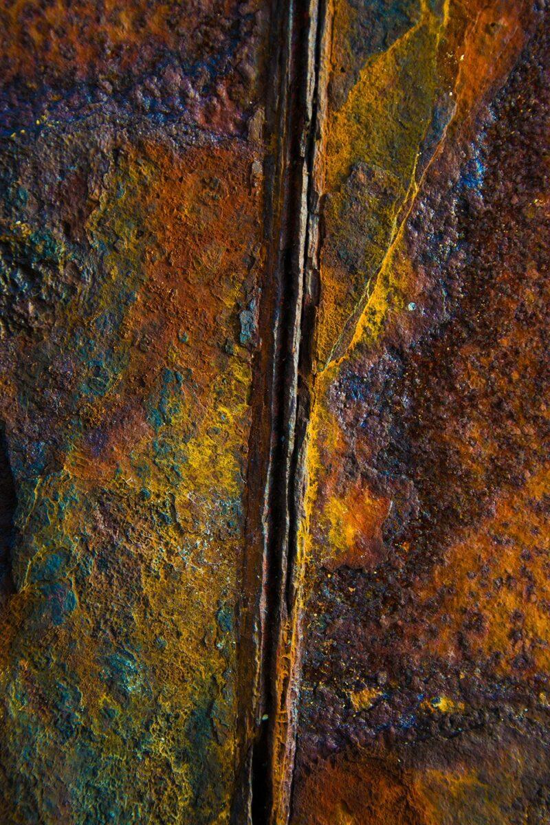 Coast Photography   CP017   Rust Never Sleeps